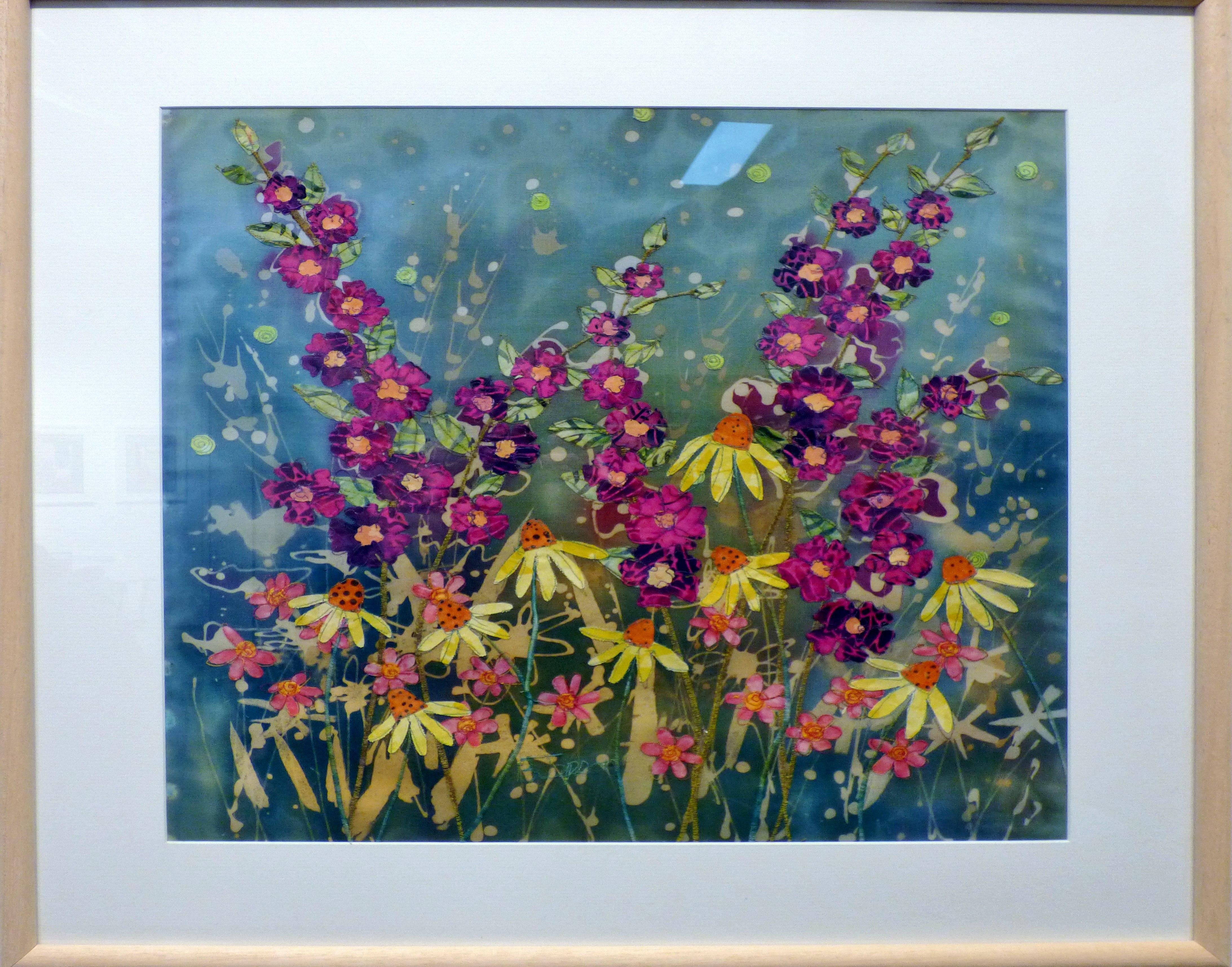 SUMMER GLOW by Barbara Jepson, Ten Plus exhibition, Nantwich