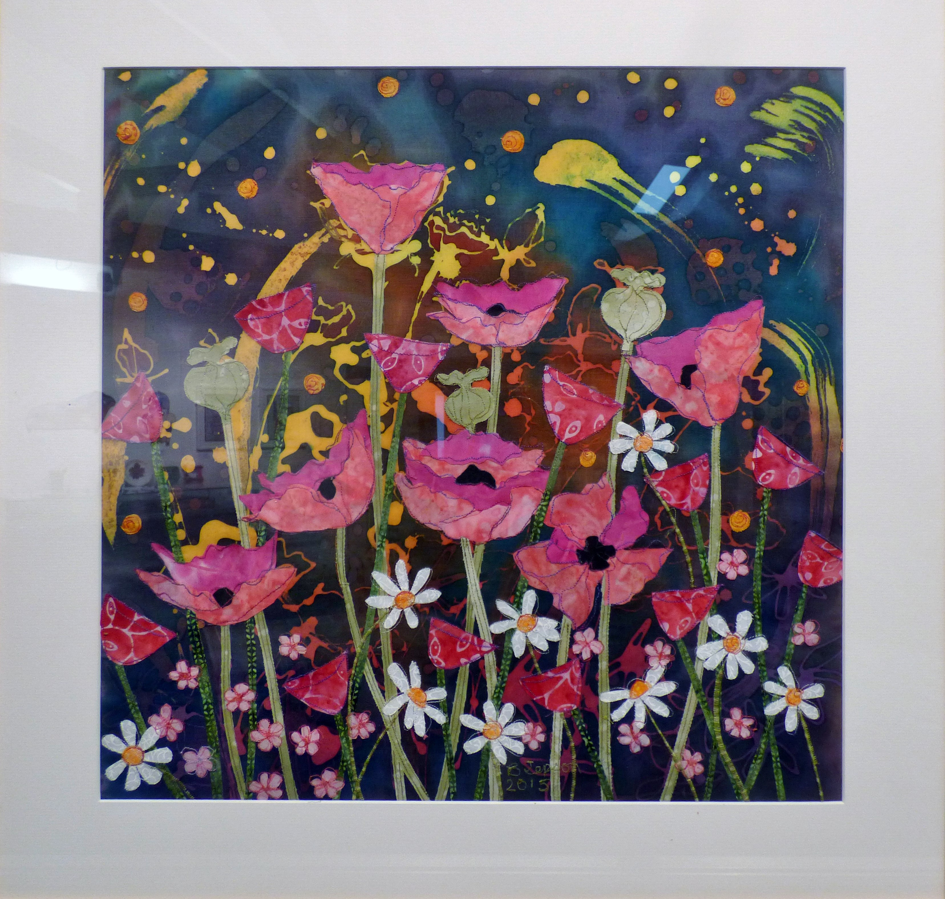 IN THE PINK by Barbara Jepson, Ten Plus exhibition, Nantwich