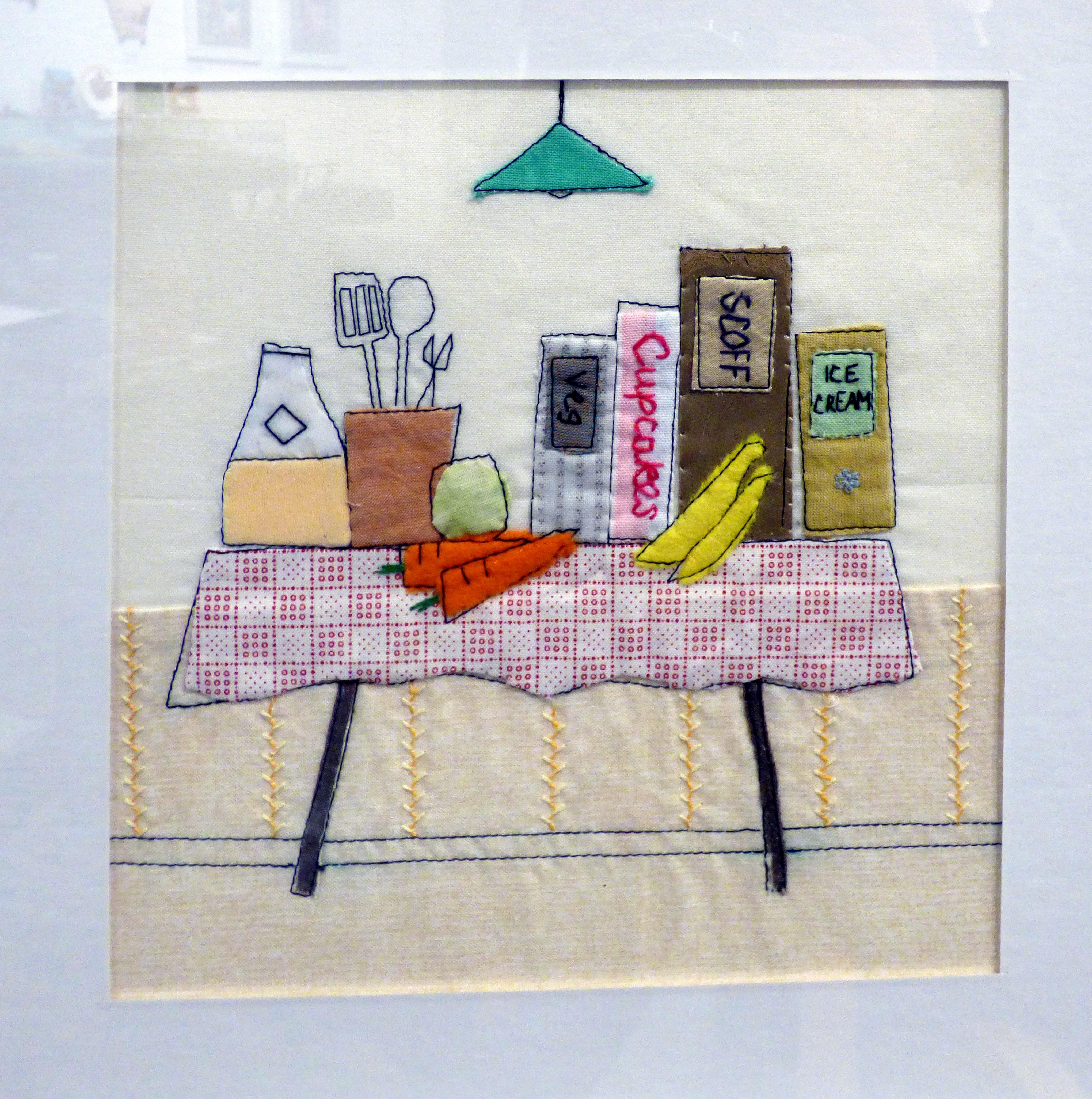 STILL LIFE WITH BOOKS 2 by Caroline Turner, Ten Plus exhibition, Nantwich