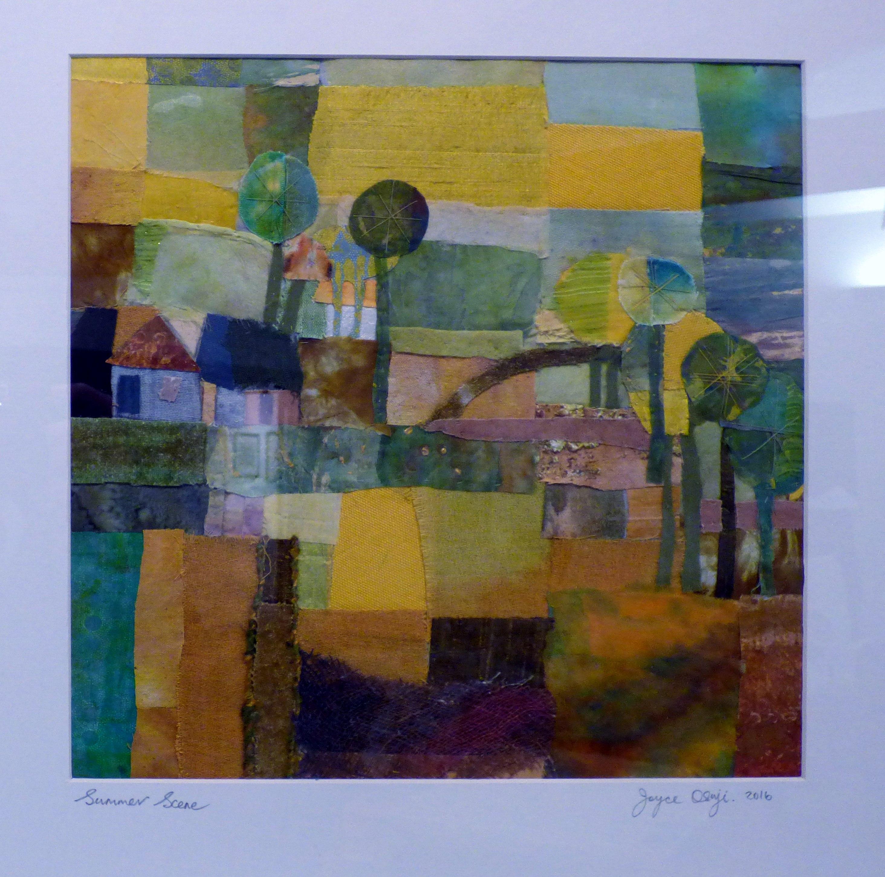 SUMMER SCENE by Joyce Osuji, Ten Plus exhibition, Nantwich