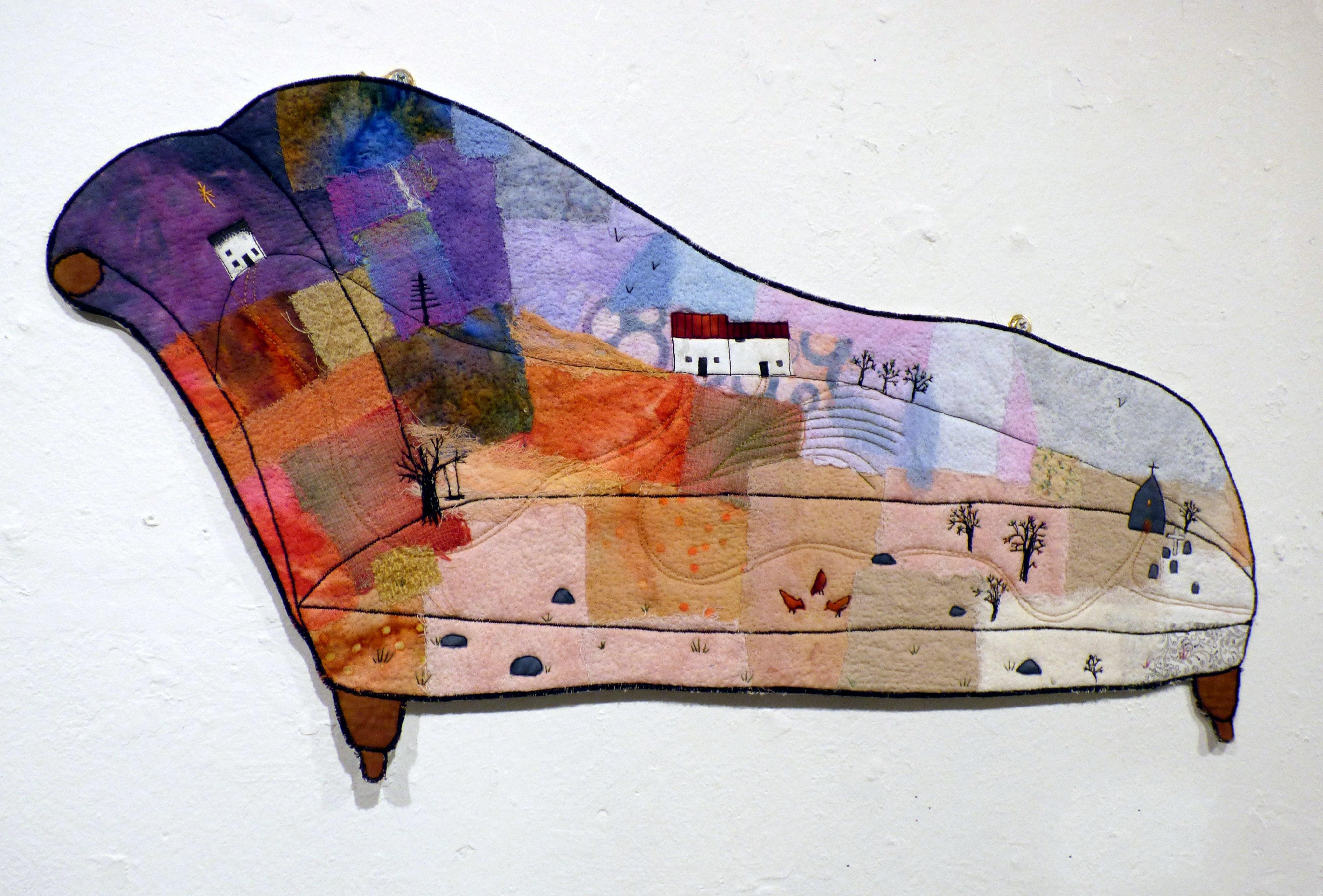 CHAISE by Michelle Barnard, Ten Plus exhibition, Nantwich