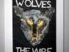 WIRE WOLVES - WARRINGTON WOLVES HANDBALL - THE WIRE by Joyce Osuji, applique