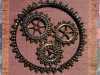 WHEELS OF TIME by Sue Wickson, beadwork applique
