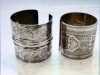 "slide showing silver bracelets from Afghanistan, ""Textiles of Afghanistan"" Talk, Oct 2021"