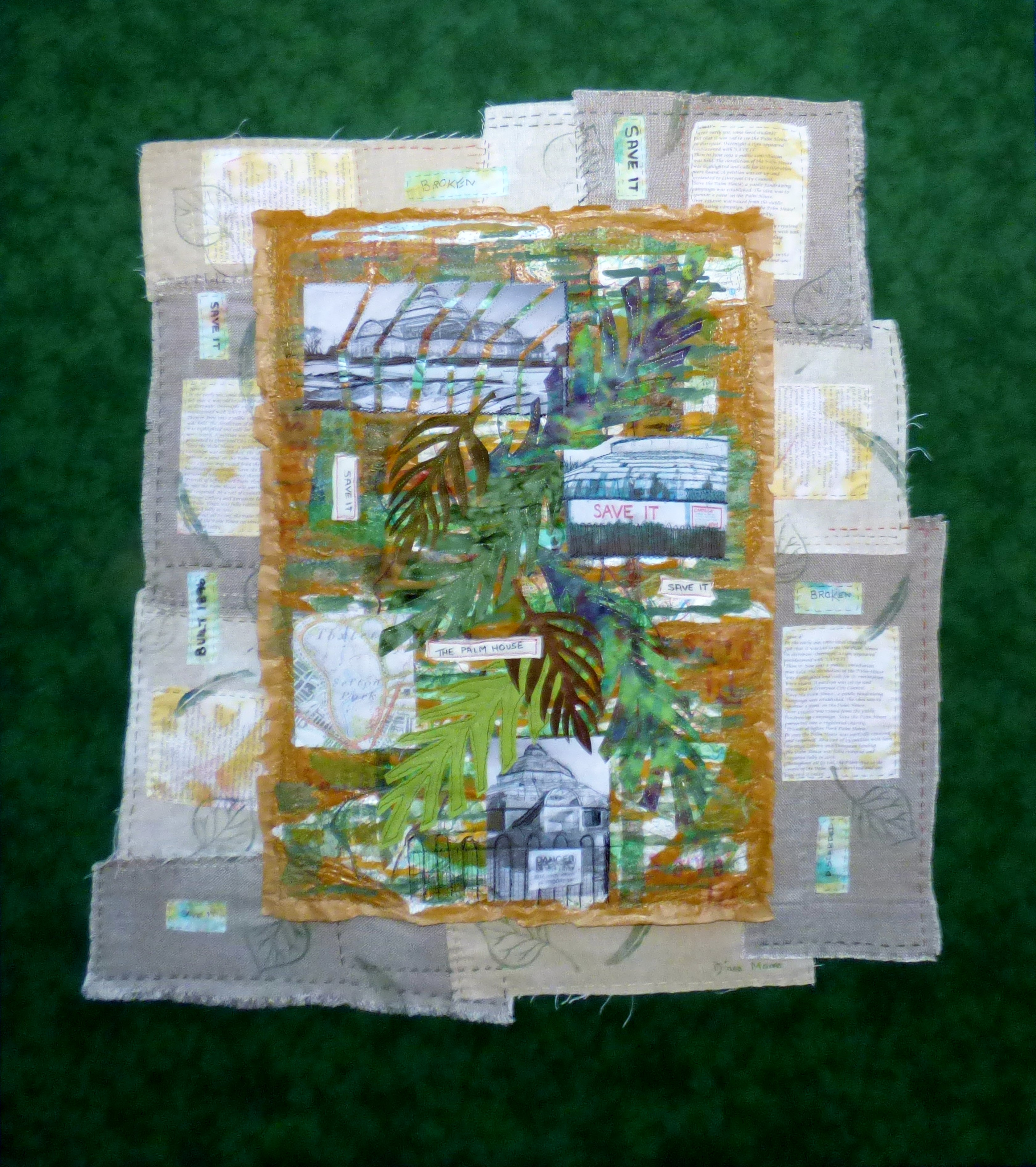 SAVE IT by Diane Moore,  Contemporary Threads group, March 2020