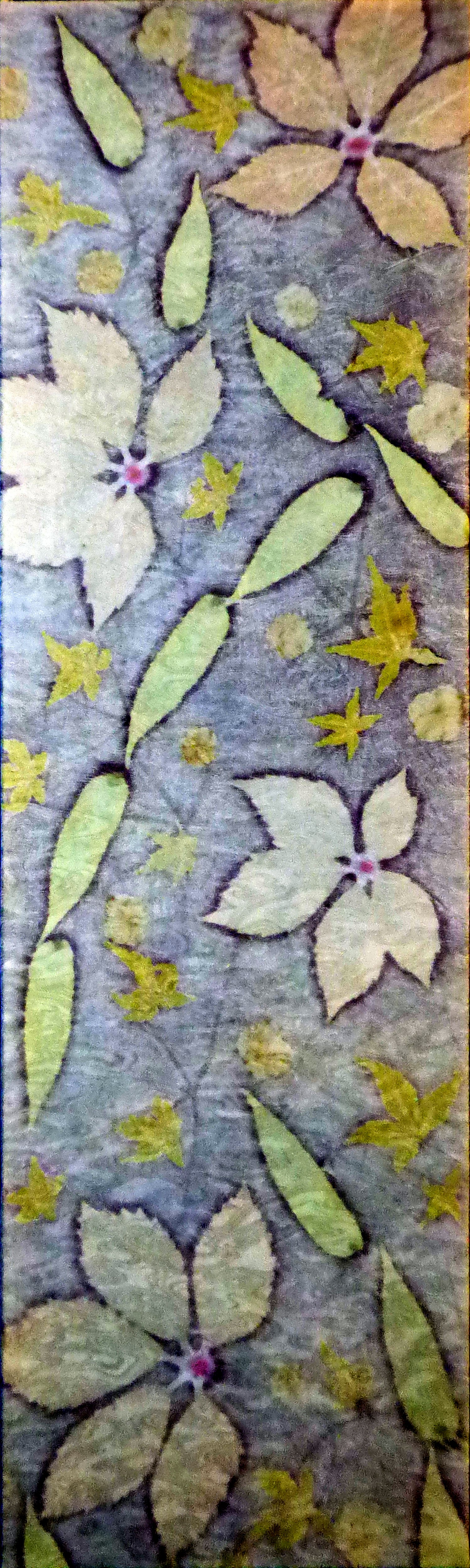 BLUE VIRGINIA by Maggie Pearson,  Contemporary Threads group, March 2020
