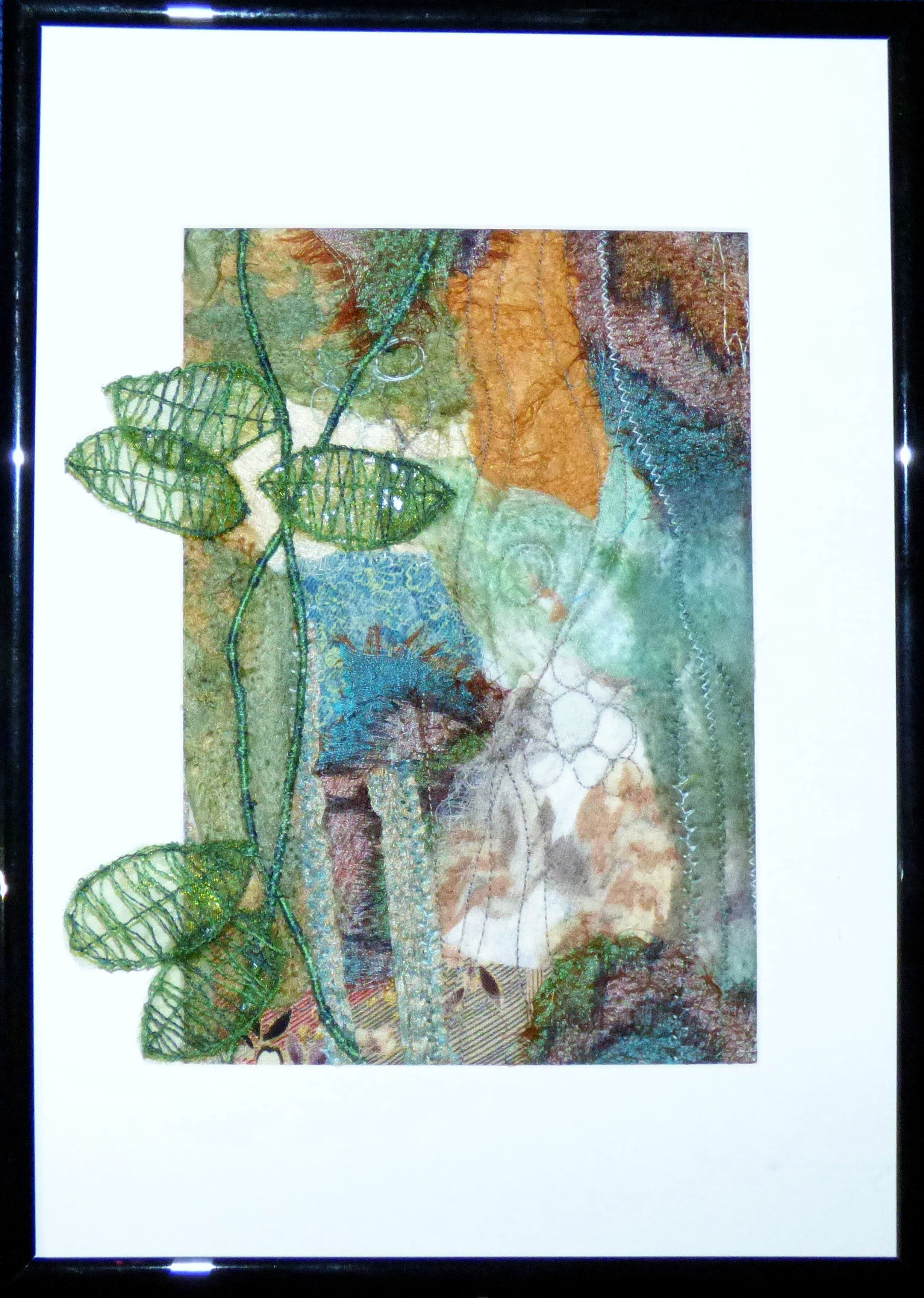 TREE BARK BY Jackie Greasley, Contemporary Threads group, March 2020