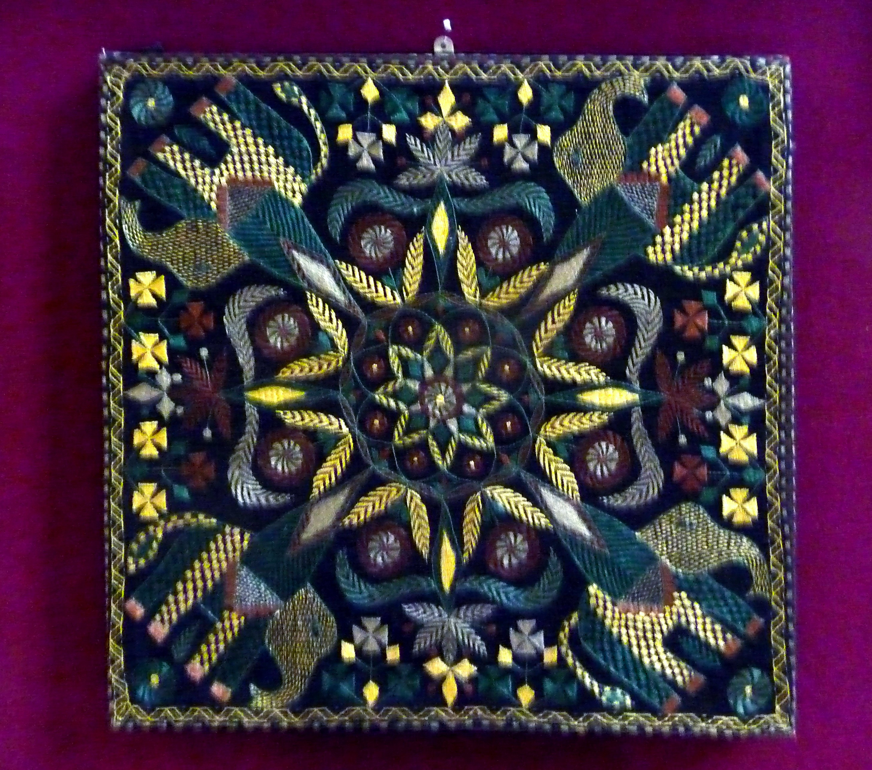 Kantha embroidery made by women of Sreepur, Bangladesh