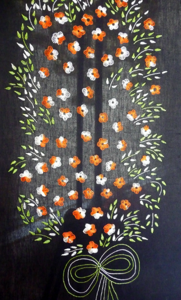 embroidery from Bangladesh