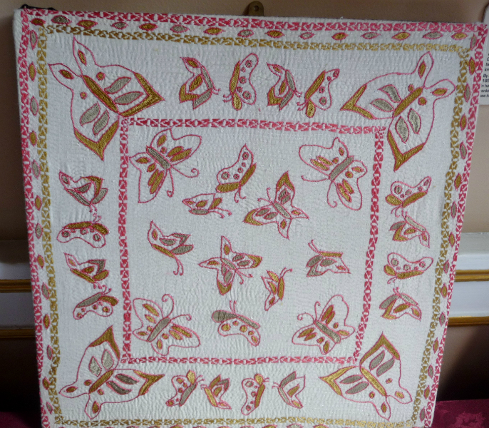 Kantha embroidery from Bangladesh