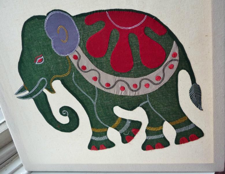 applique work from Bangladesh