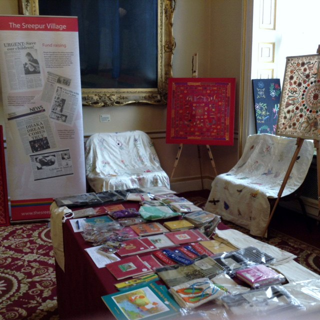 Threading Dreams exhibition 2016 in Liverpool Town Hall