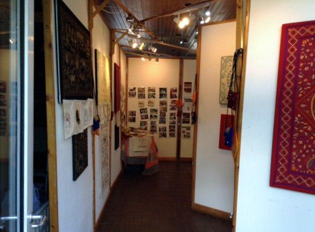 Threading Dreams exhibition, Calderstones Readers Gallery, October 2017
