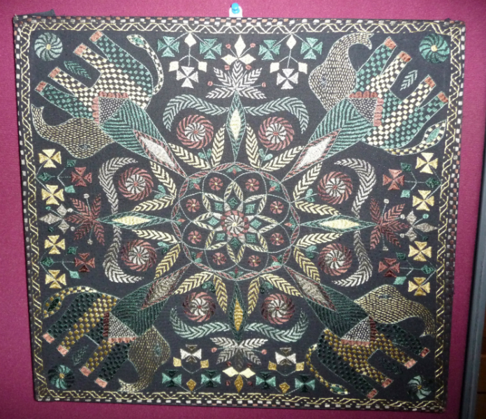 Kantha hand embroidery from Bangladesh
