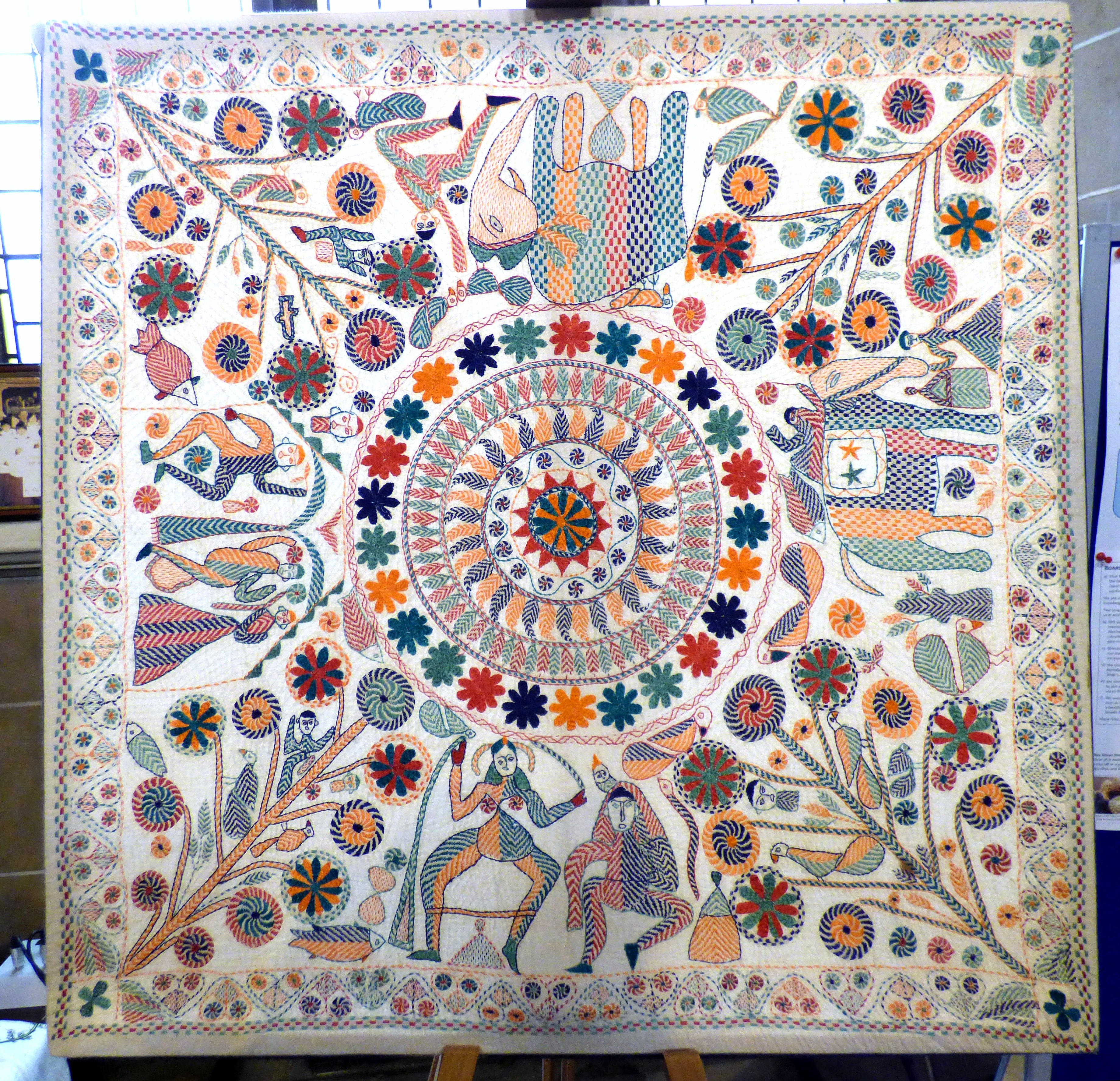 kantha quilt from Ruby Porter's collection
