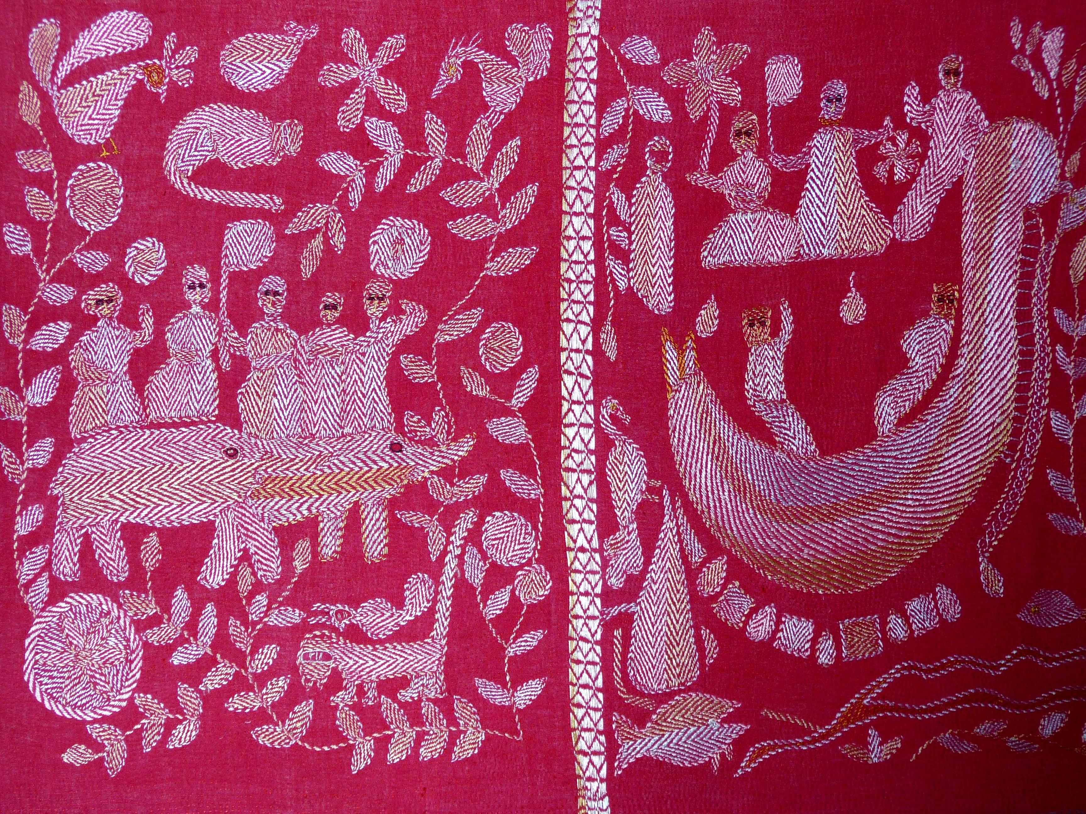 kantha embroidery made in Bangladesh
