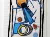 SHARDS (original) by Sue Boardman, applique & stitch, Re-View Textile Group, Frodsham 2019