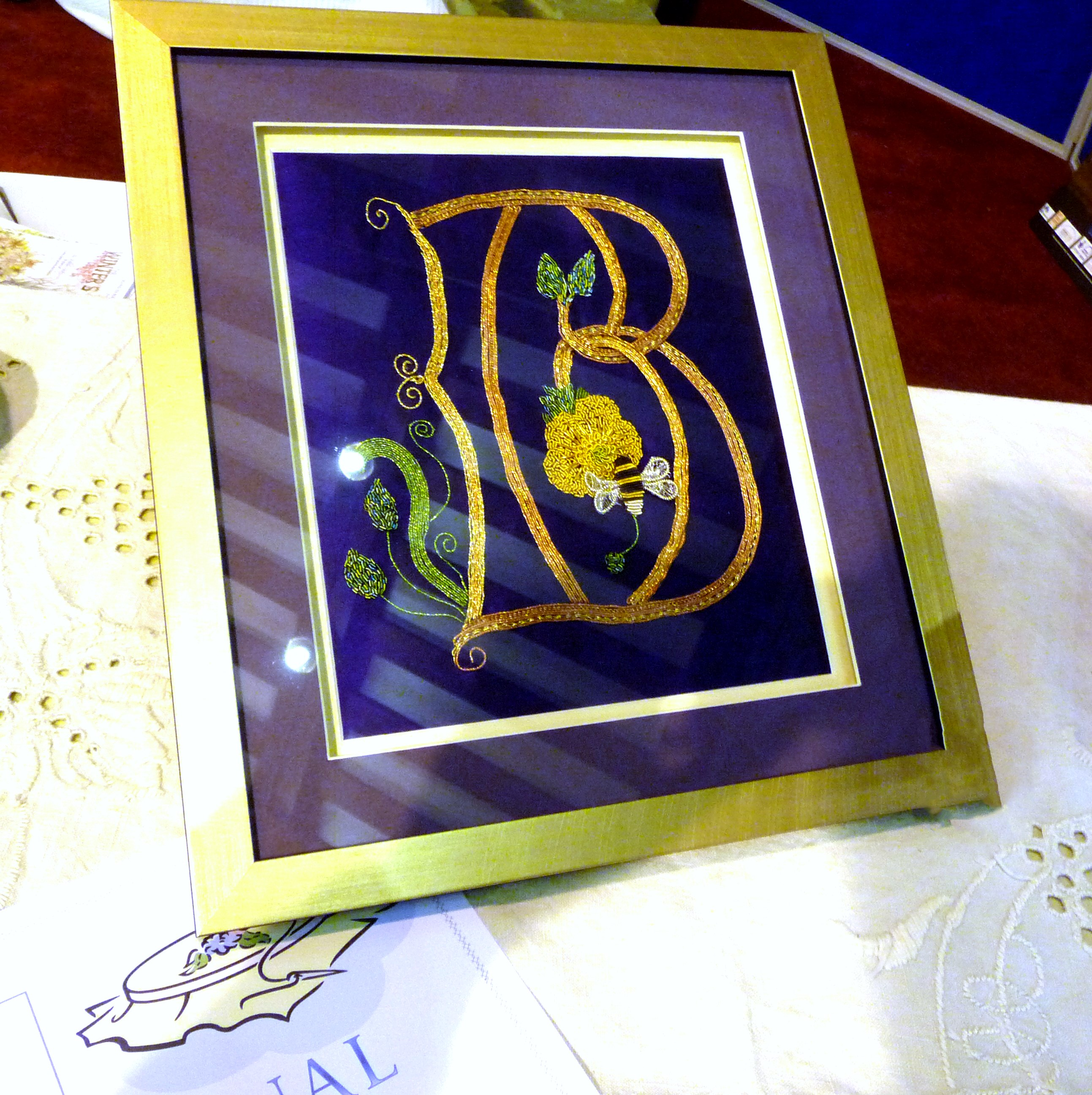 entry to Traditional Embroidery Competition 2014