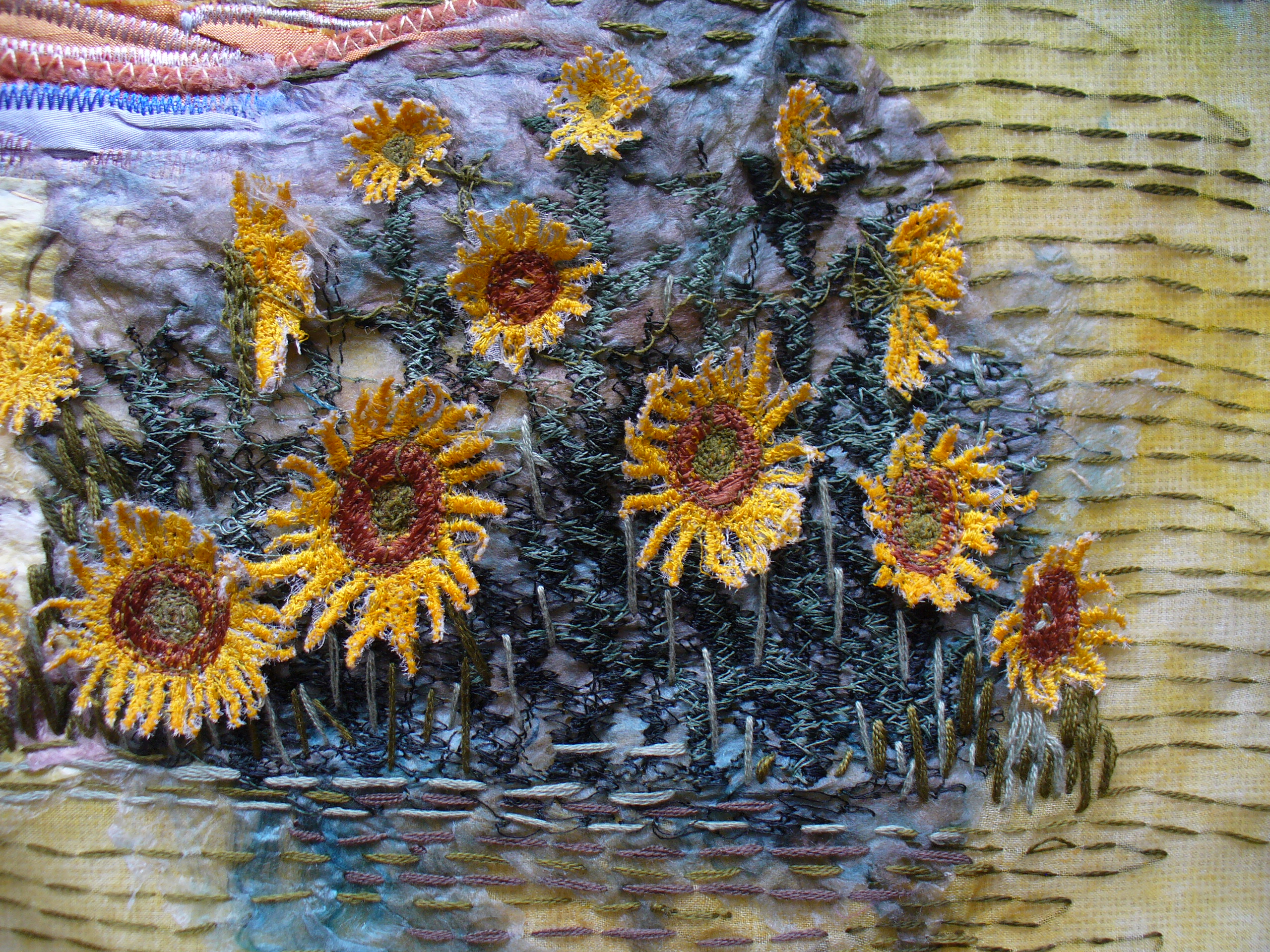 Sending Up Provence (detail) by Ann Rogers