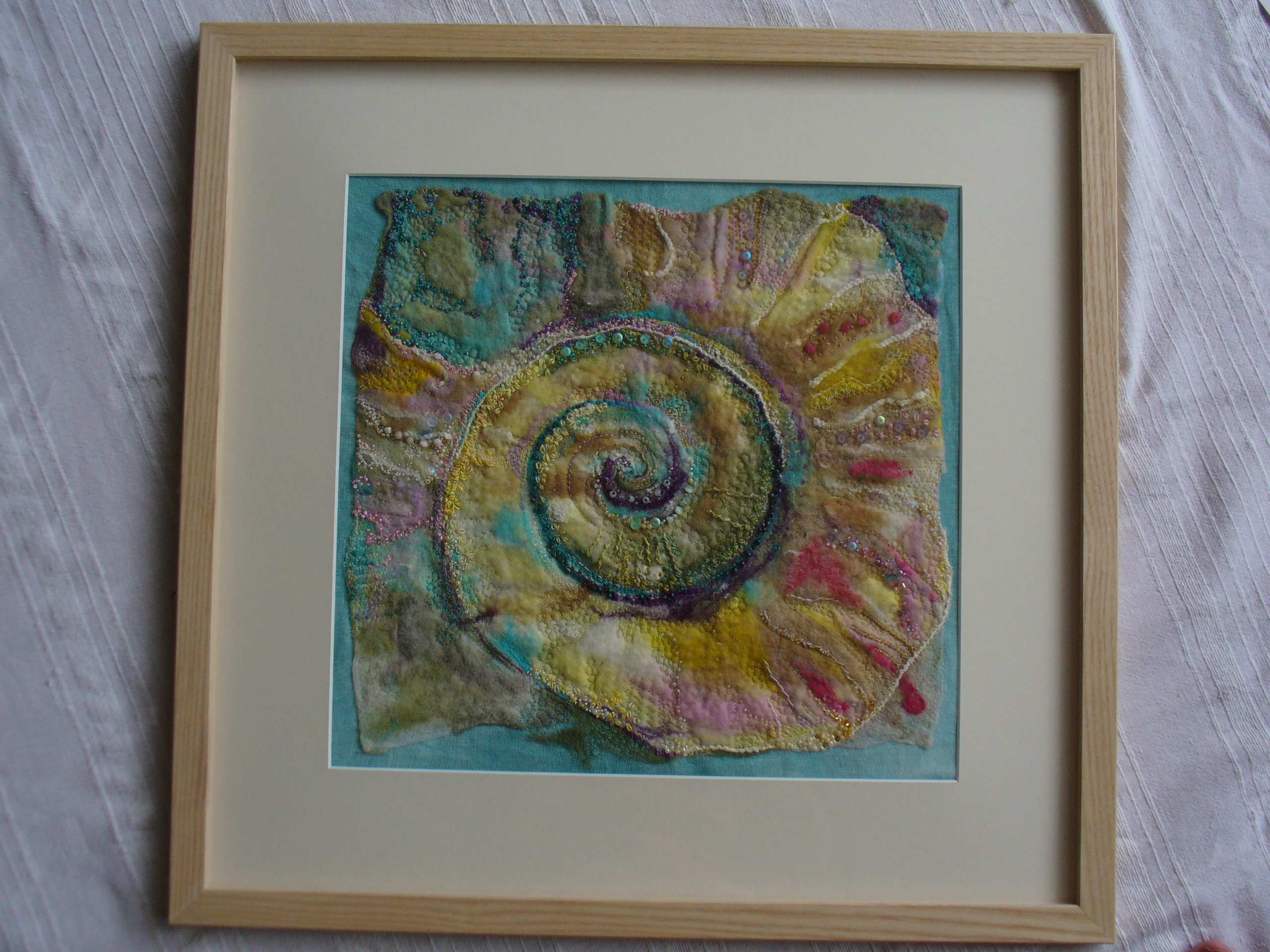 Spiral Fossil by Liz Shelbourne