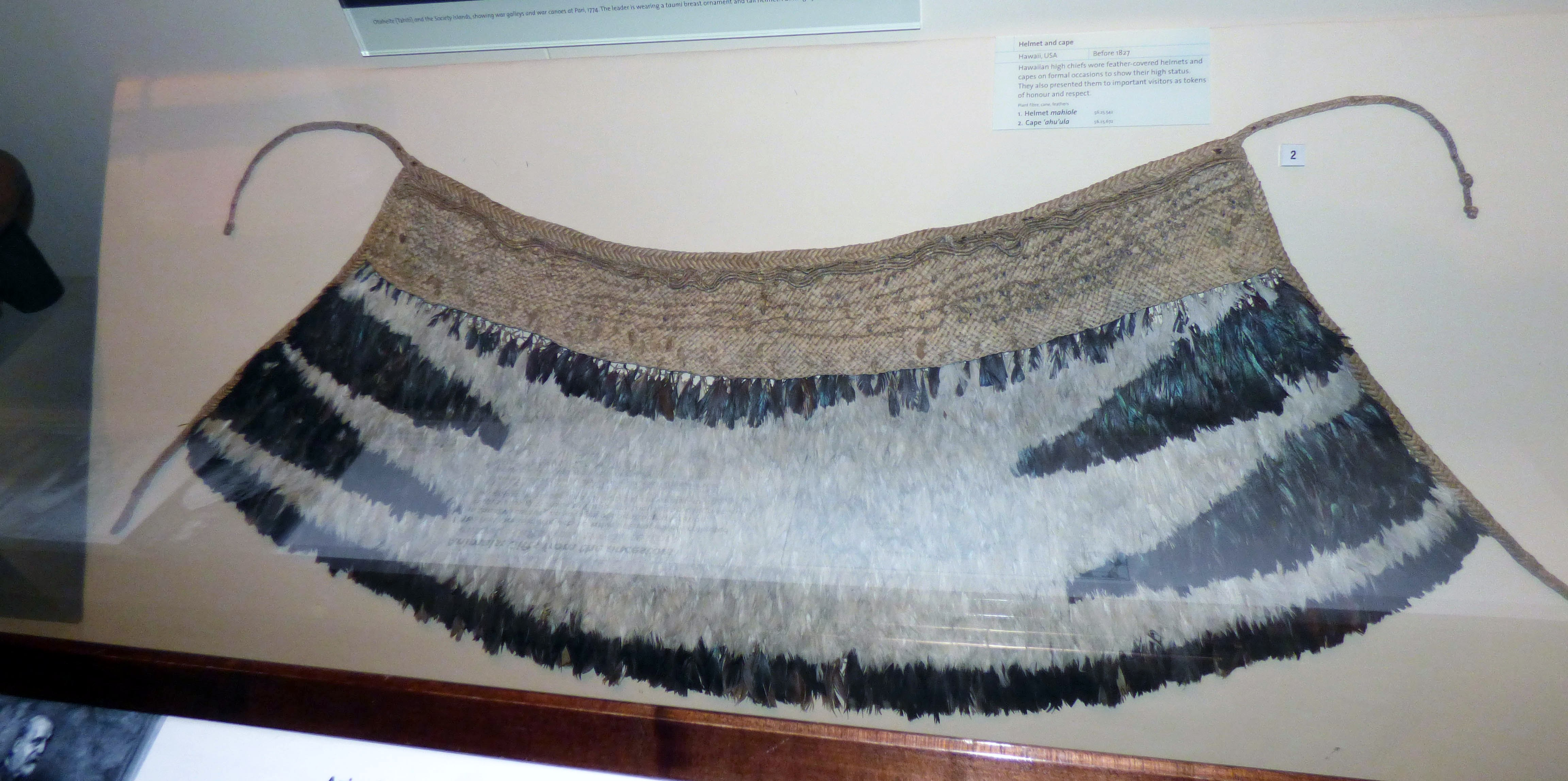 Cape from Hawaii, MEG behind the scenes tour at Liverpool World Museum, 2018