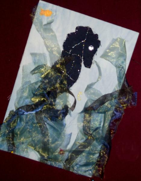 SEA HORSE by Naomi Keys (YE)