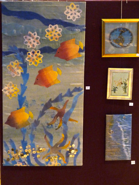 Embroidery by Hilary McCormack, Madeline Duggins, Vicky Williams and Wendy Neale