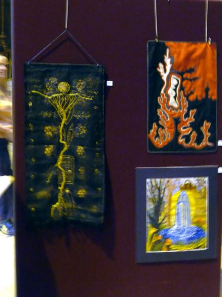 Embroidery by June Hodgkiss,Norma Heron and Hilary McCormack