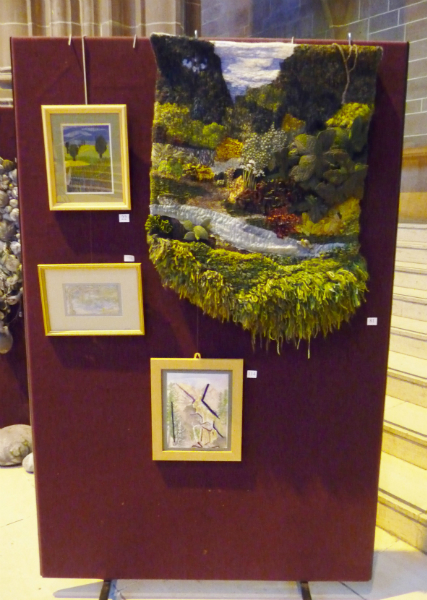 Embroidery by Christine Bennett, Jean Mather, Jean Critchley and Ann Thyer