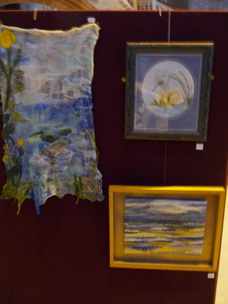 Embroidery by Cathy Turner, Val Heron and Ann Rogers