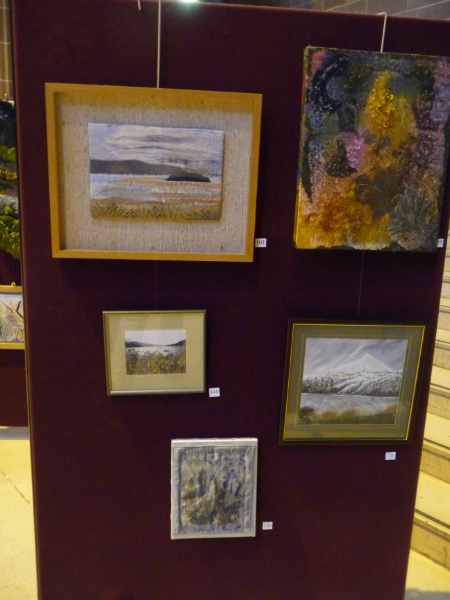 Embroidery by Ann Rogers, Linda Sowler, Isobel Hogg, Sylvia Roberts and Ruby Porter