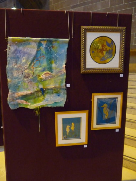 Embroidery by Sue Yoosawai, Hilary McCormack, Christine Bennett and Vicky Williams