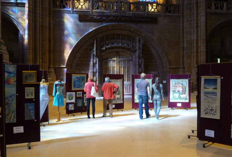 WATER exhibition, Liverpool Anglican Cathedral 2012