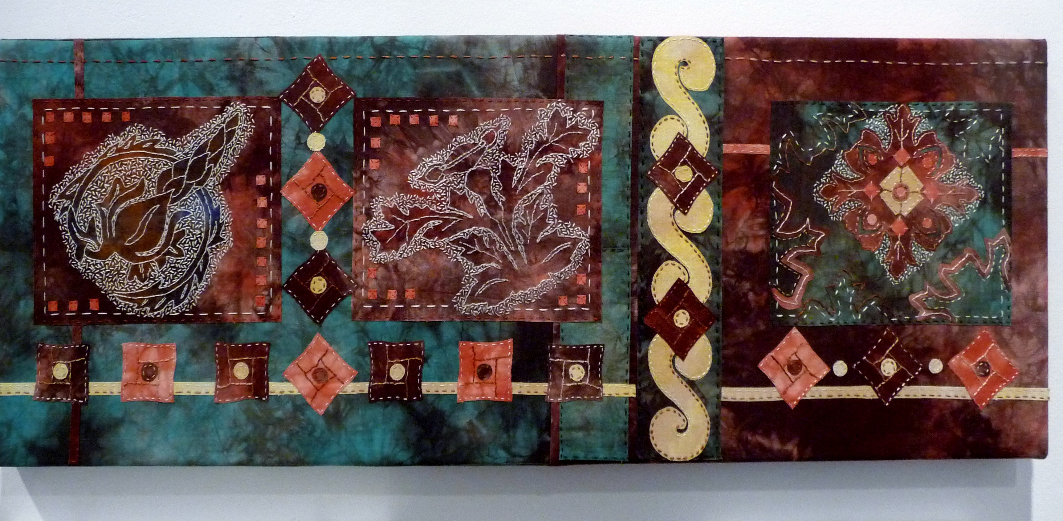 COTTON TOWN, HEARTH AND HOME by Barbara Ryall, stitch