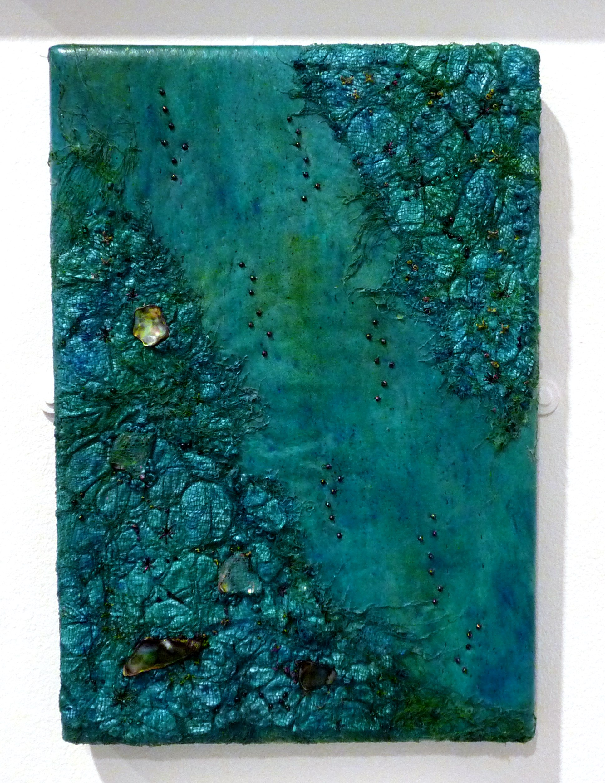 PEARLESCENT LUSTRE by Pauling Bowling, mixed media