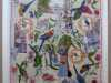 AUSTRALIANS, mixed media textiles by Anne Kelly, Ruthin Craft Gallery, July 2021
