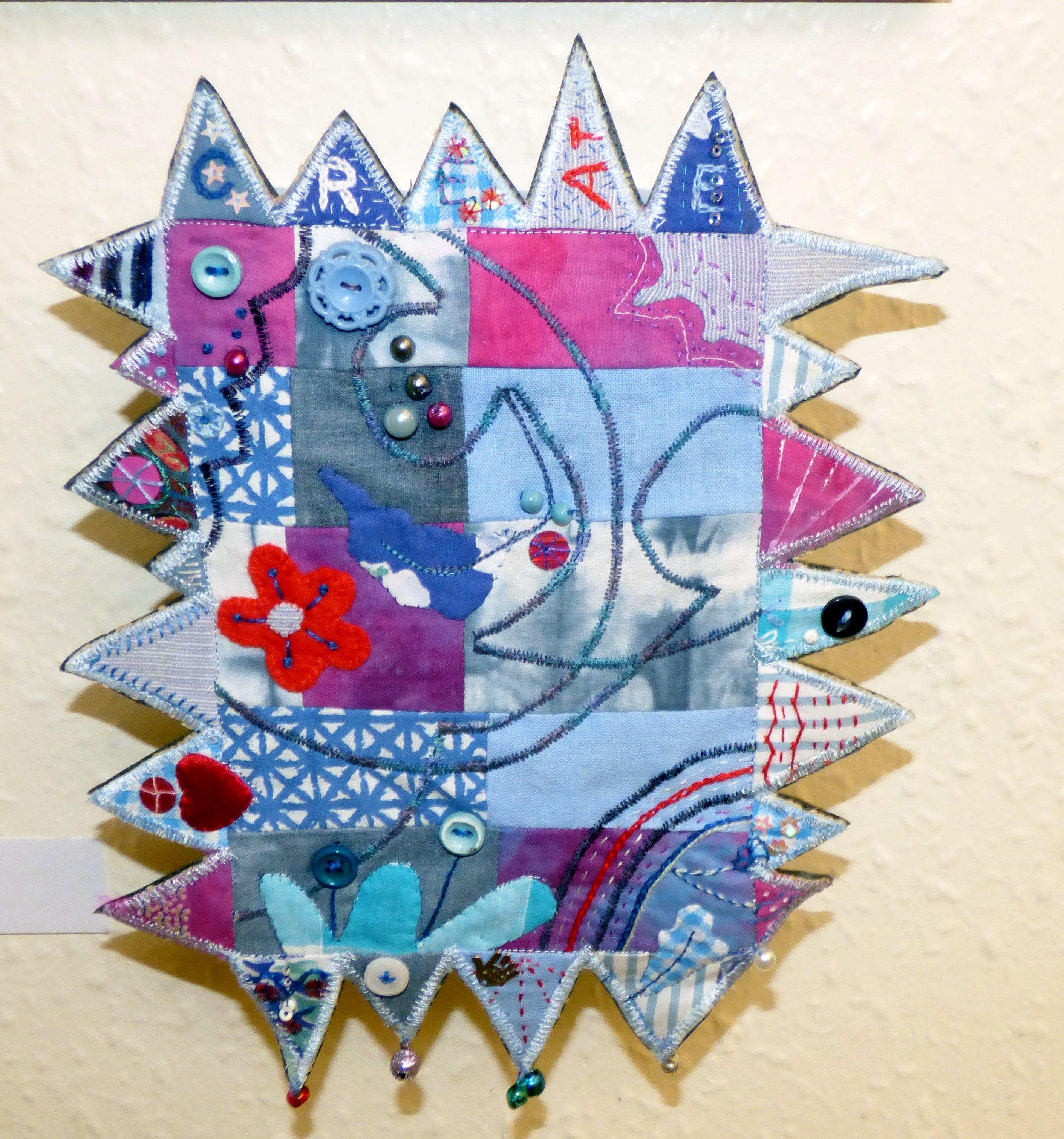 CREATE BOX by Sue Boardman, applique