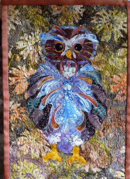 OWL HANGING, Liz Whiteley