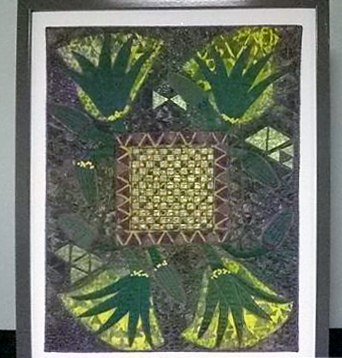 MYSTIC GARDEN by Jane Holmes of DIVERSITY Textile Group