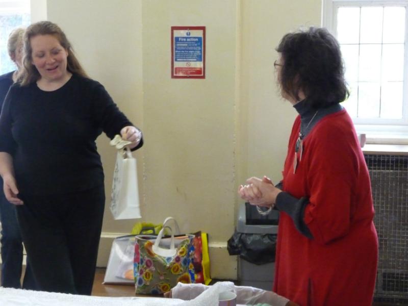 Colour Fantasies with Felt WORKSHOP - Cathy Turner, April 2012