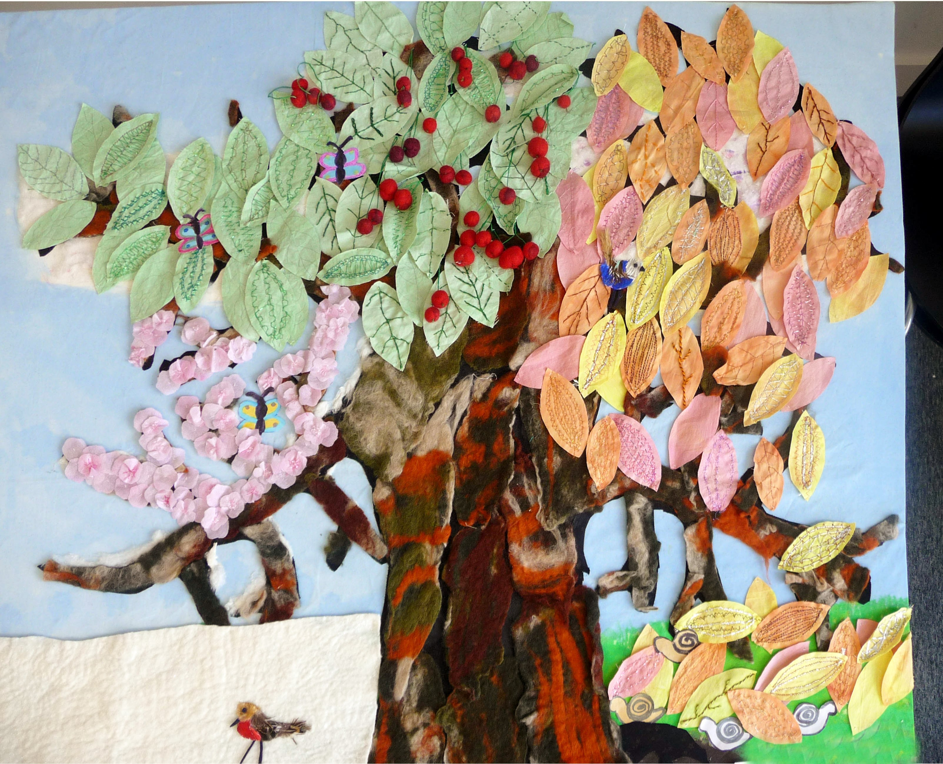CHERRY - A TREE FOR ALL SEASONS by Wirral YE, DeDenne Comp 3rd Prize Winner 2013-2014