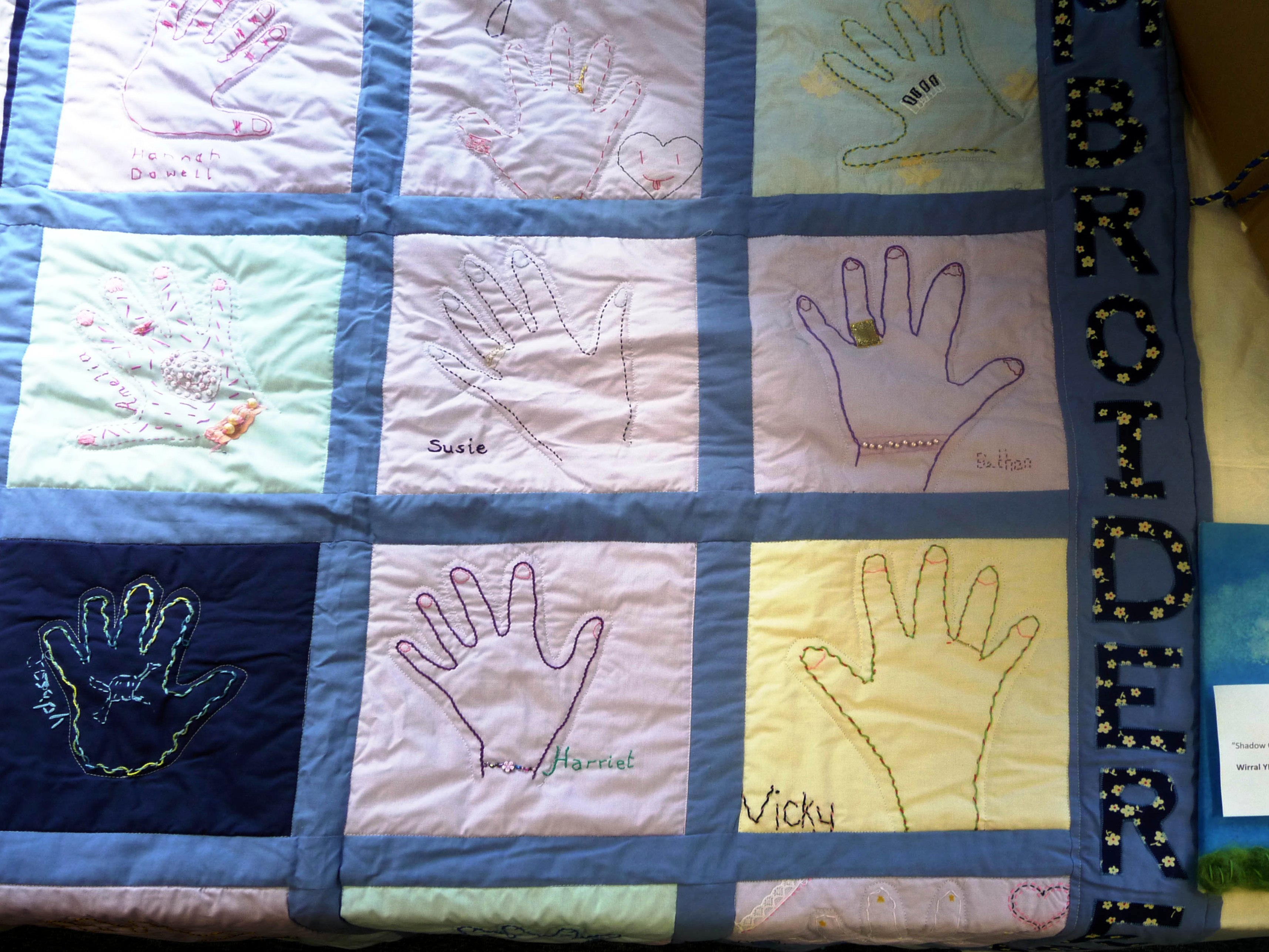 SHADOW QUILT by Wirral YE