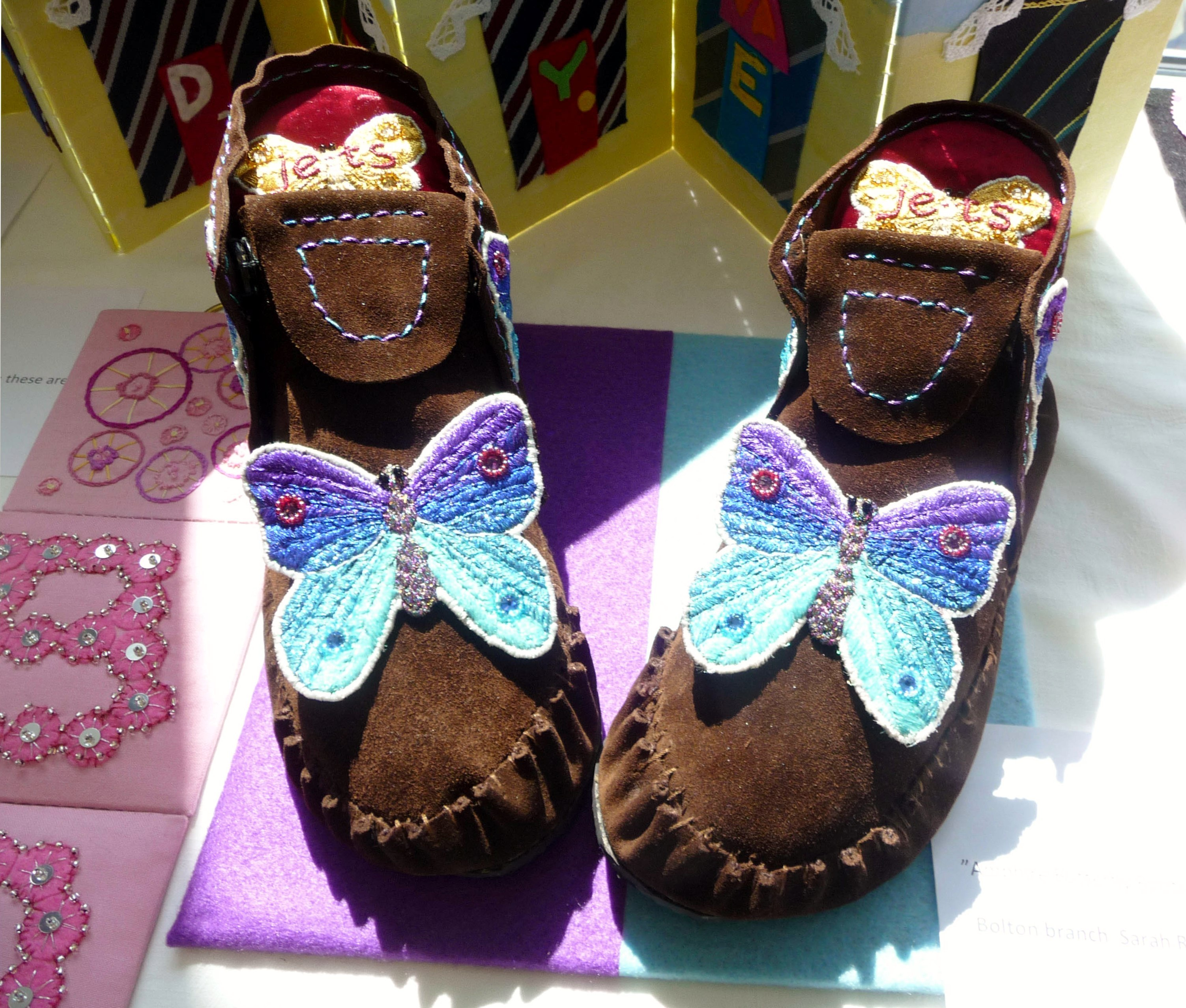 AMPHIRE BUTTERFLY BOOTS by Sarah Ruaux, Bolton YE