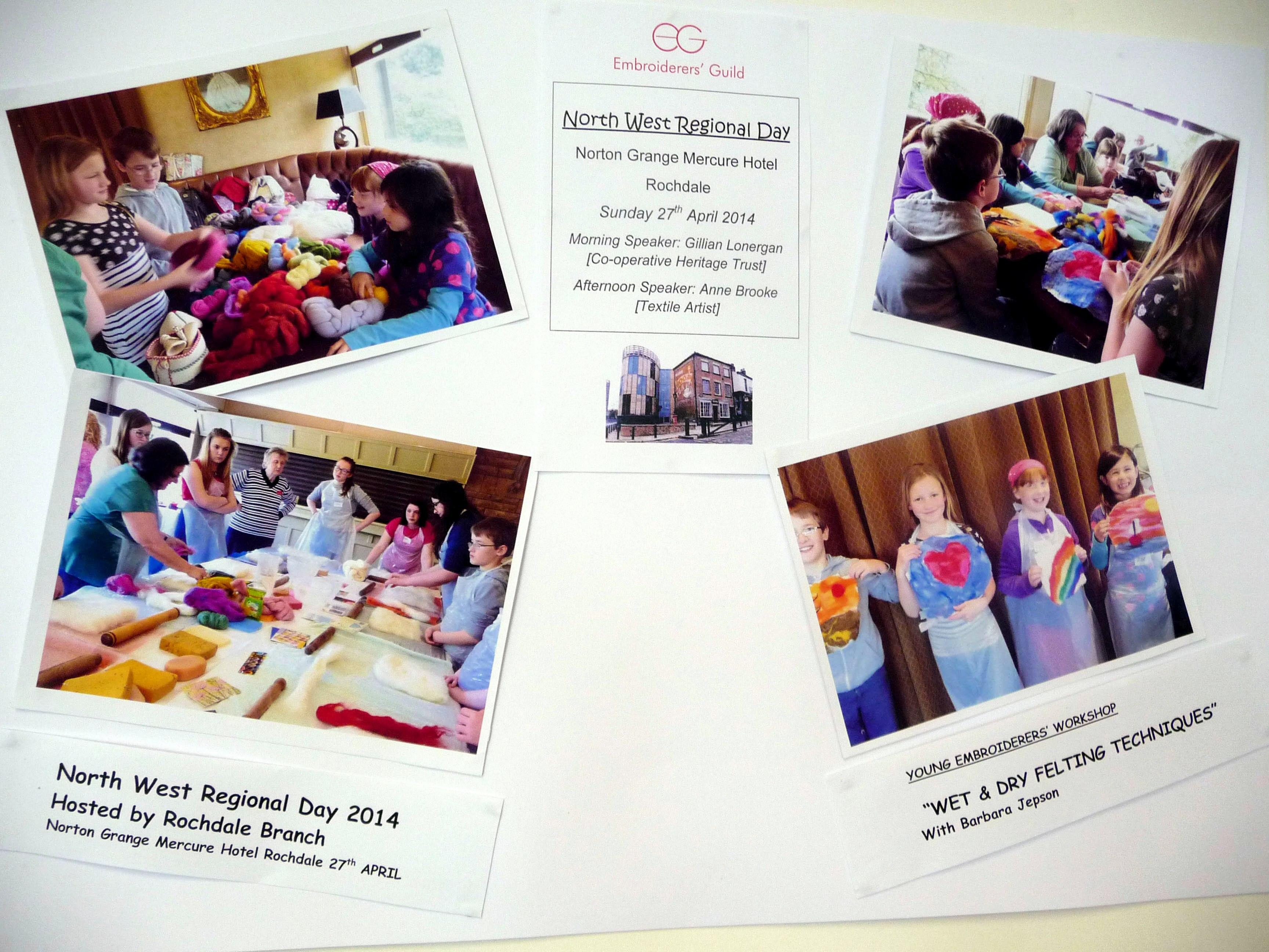 YE 40th Anniversary exhibition, Urmston 2014