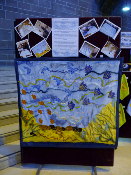 """YE \""""Under the Sea\"""" group project 2012"""
