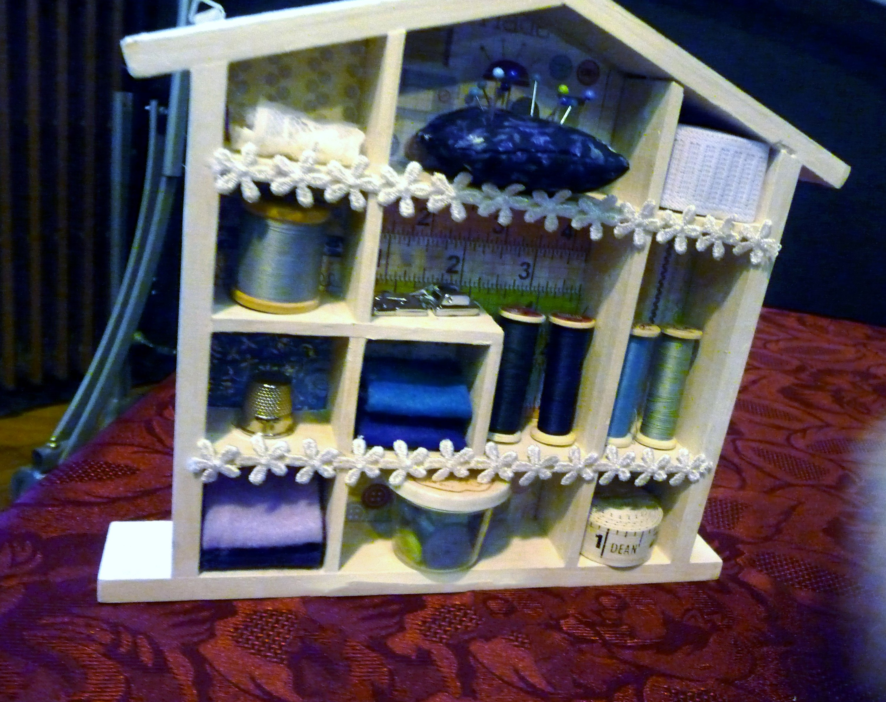"""entry to """"Decorate Your Home From Home"""" YE competition at MEG Christmas Party 2014, and First Prize Winner"""