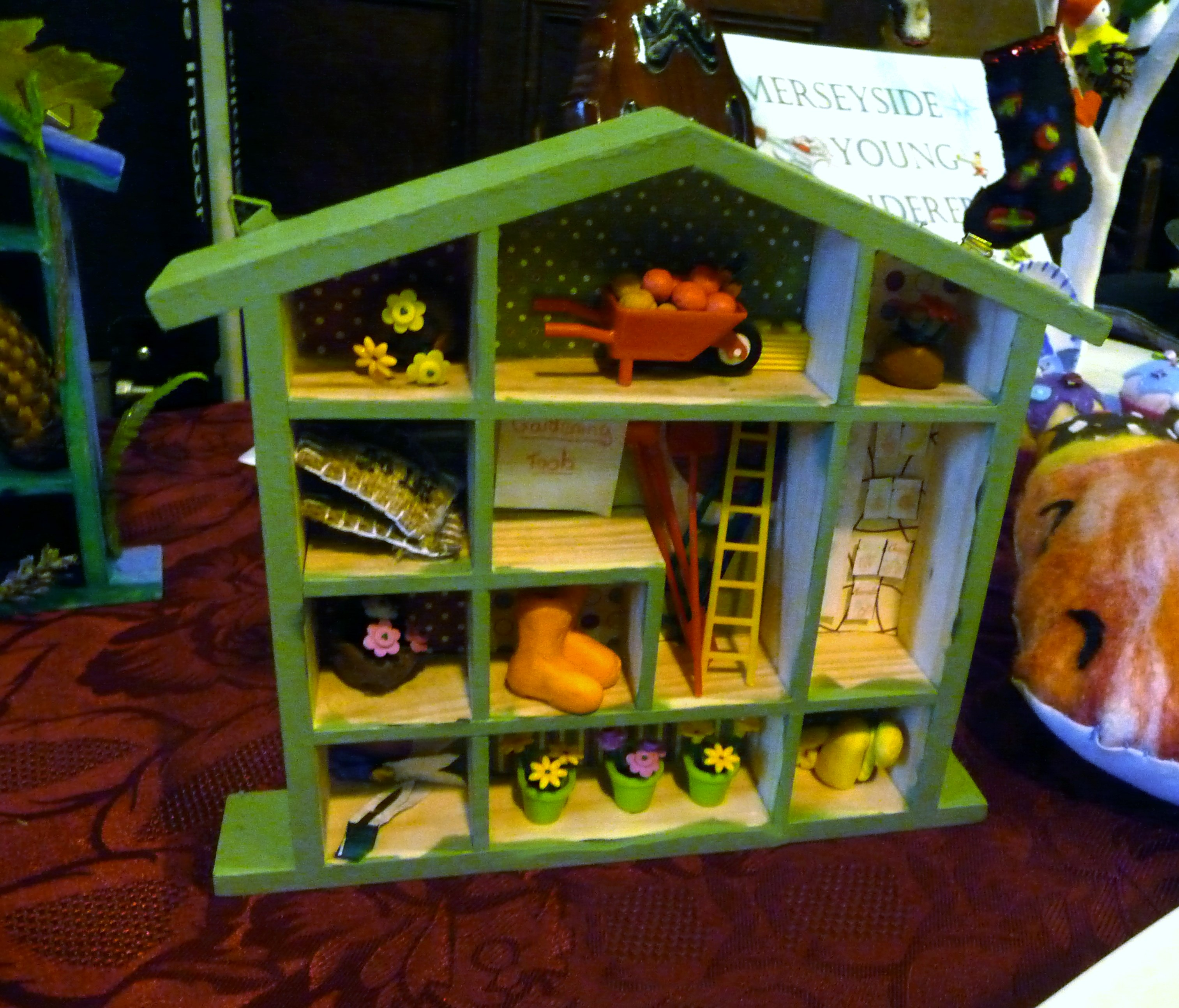"""entry to """"Decorate Your Home From Home"""" YE competition at MEG Christmas Party 2014"""