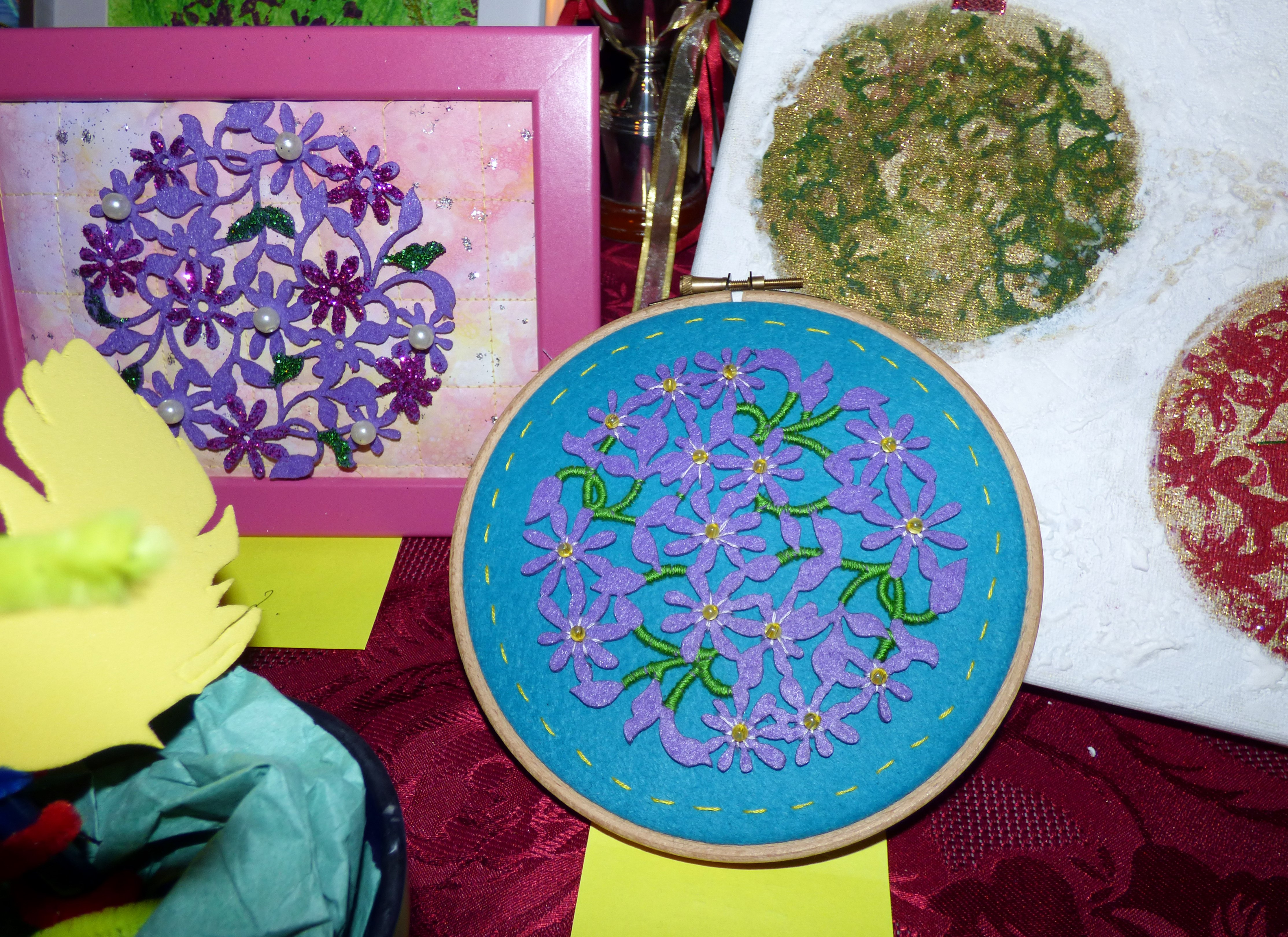 entries to YE competition at Winter Fair 2016