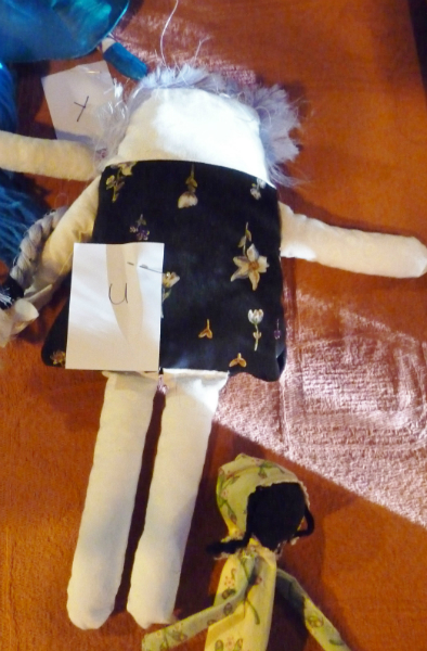 YE entry at the Make a Doll/ Dress a Doll competition 2012