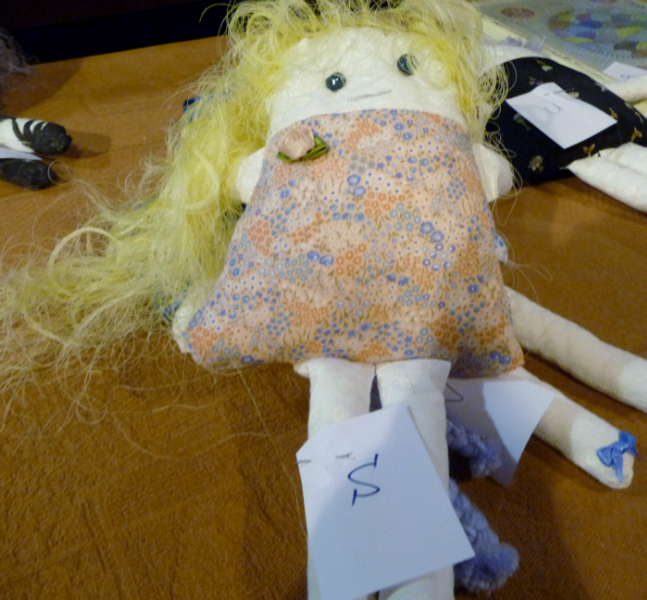 YE entry at the Make a Doll/ Dress a Doll competition 2012 - and